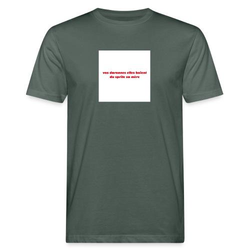 tee vos daronnes elles boient du sprite sa mère - T-shirt bio Homme