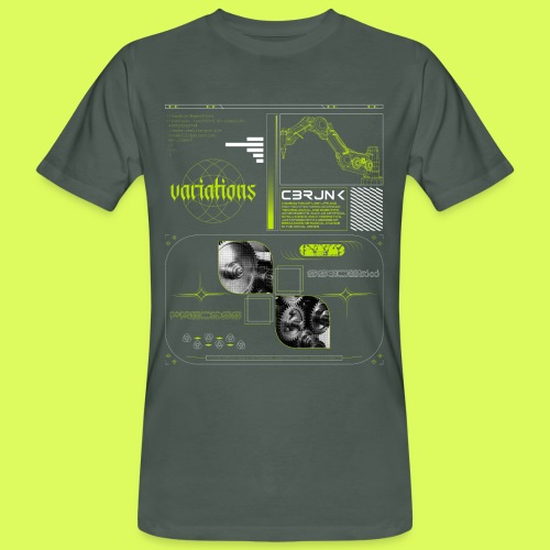 VARI8 NΞØN - Men's Organic T-Shirt