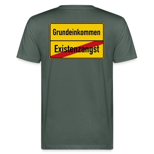 Grundeinkommen BGE - Männer Bio-T-Shirt