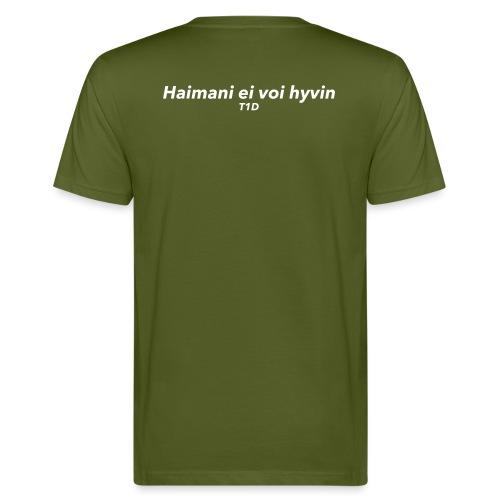 Haimani ei voi hyvin v2 - Miesten luonnonmukainen t-paita