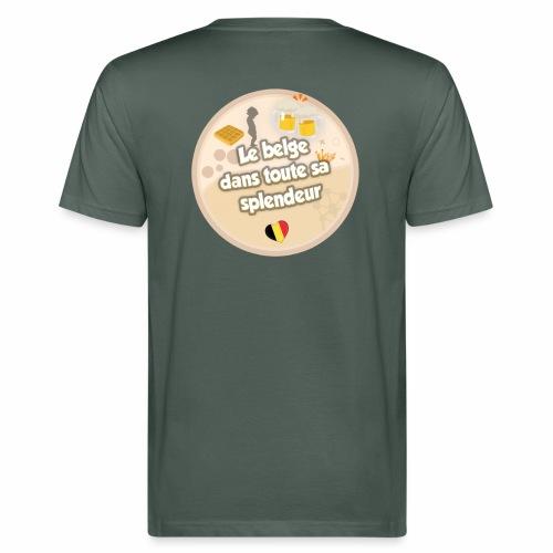 logo Le belge - T-shirt bio Homme