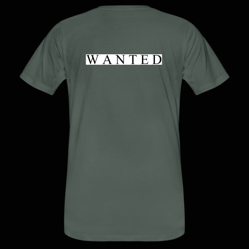 Wanted ecrit - T-shirt bio Homme