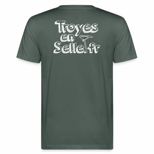 logo Troyes en Selle - T-shirt bio Homme