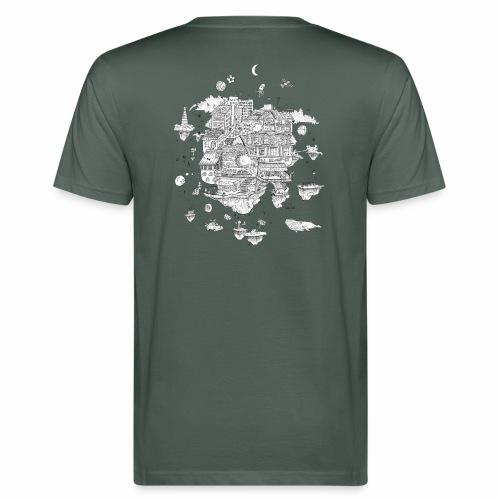 mon territoire n est pas de ce monde - Camiseta ecológica hombre