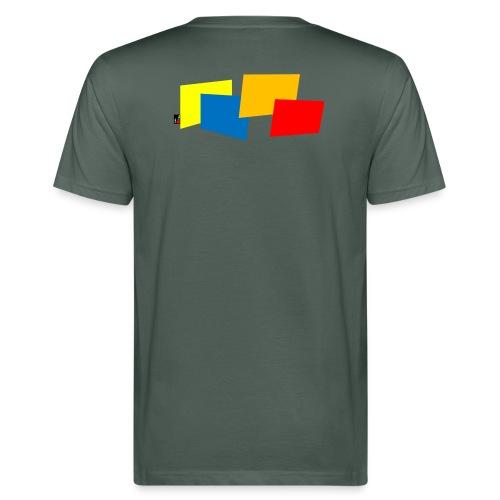 Bouldering Gym by Roots Climbing - Men's Organic T-Shirt