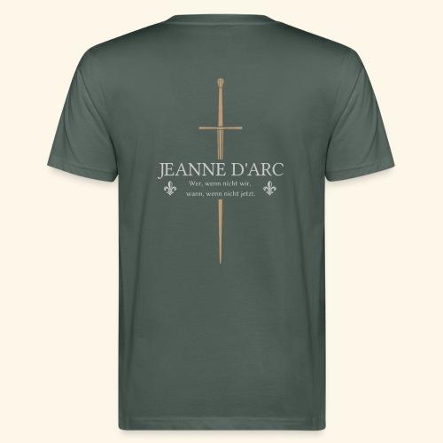 Jeanne d arc - Männer Bio-T-Shirt