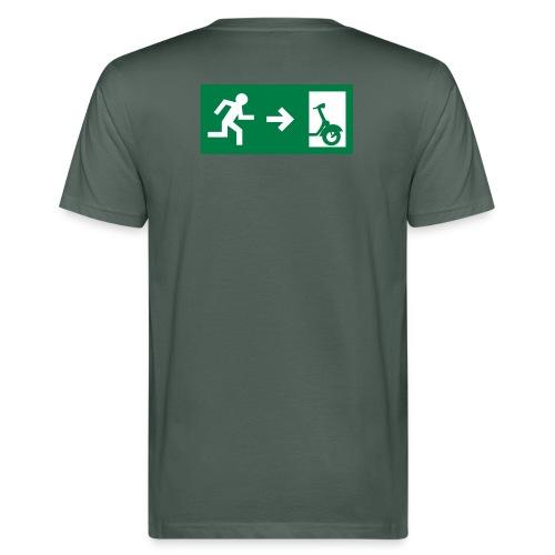 notaufgang - Männer Bio-T-Shirt
