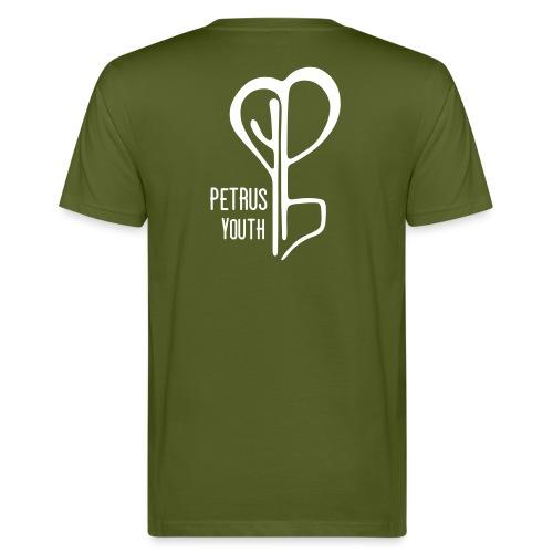 Petrus Vintage Logo - Miesten luonnonmukainen t-paita