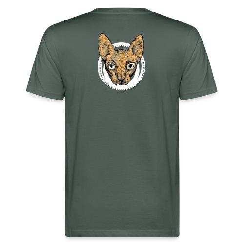 sphynx white bg - Ekologisk T-shirt herr