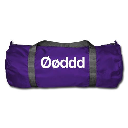 Øøddd (hvid skrift) - Sportstaske