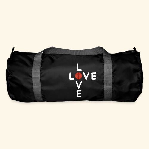 LOVE Cross basketball red 001 - Sporttasche