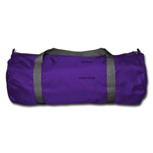 Top Secret / Bottom Secret - Duffel Bag