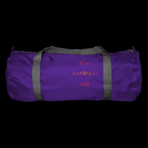 It's a mandala's world - Duffel Bag