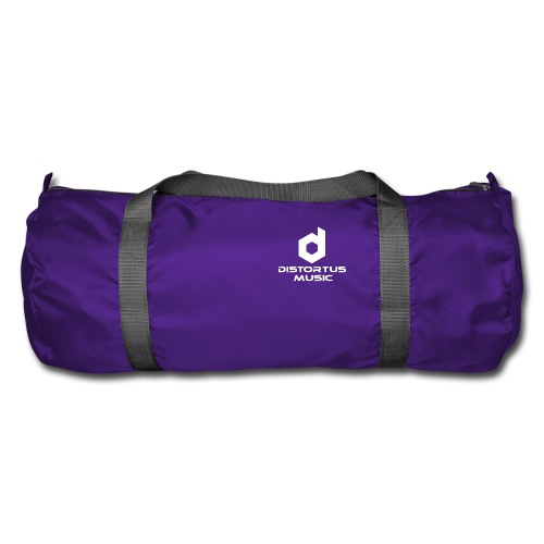 Distortus Logo Black T-shirt - Duffel Bag