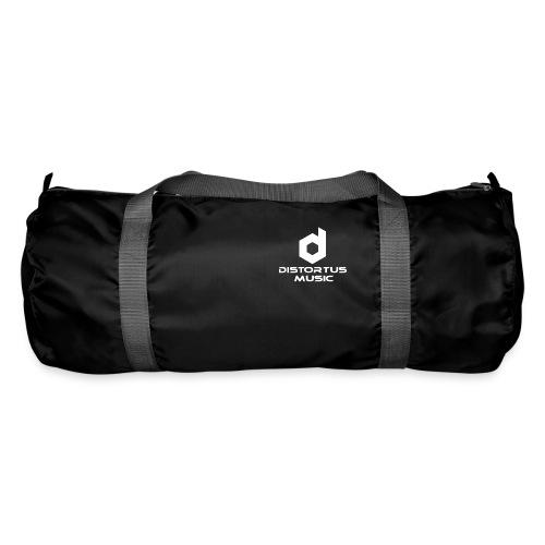 Distortus Logo Black T-shirt - Duffel Bag