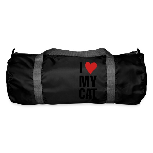 I_LOVE_MY_CAT-png - Bolsa de deporte