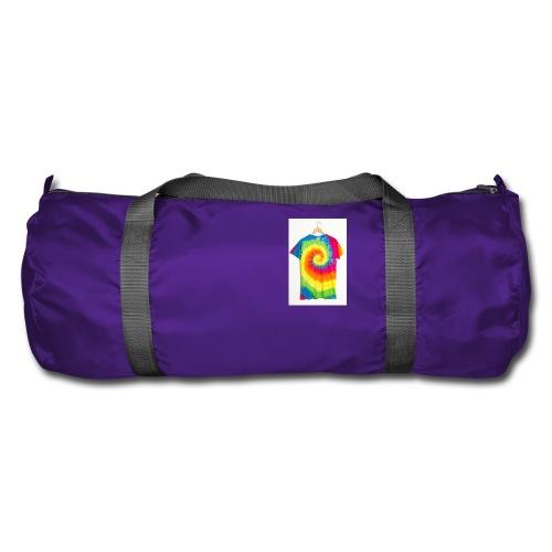 tie die small merch - Duffel Bag