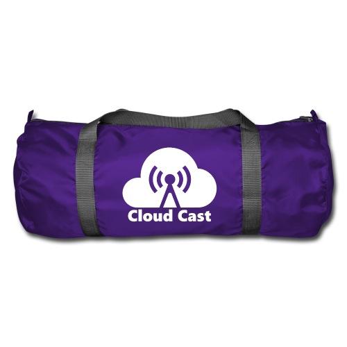 Cloud Cast White mit Schriftzug - Sporttasche