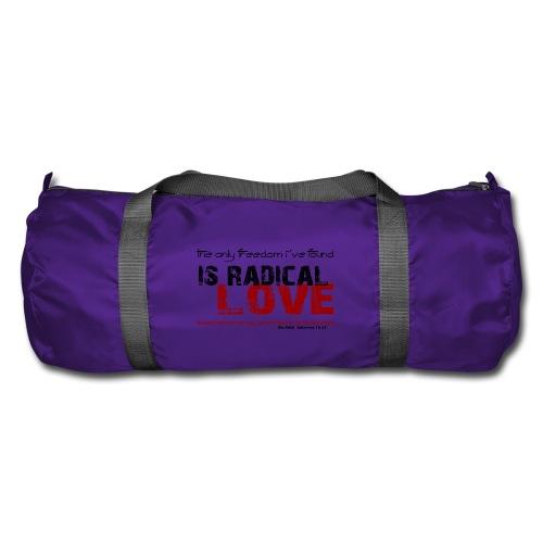 Radikale Liebe black - Sporttasche