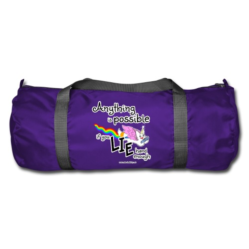Anything Is Possible if you lie hard enough - Duffel Bag