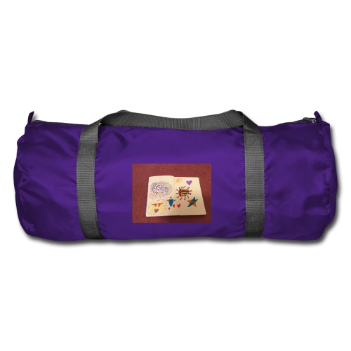 I am a Amster or Awesome Amy logo - Duffel Bag