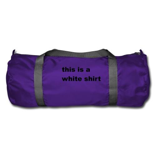 White shirt - Sporttasche