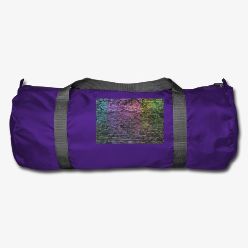 Regenbogenwand - Sporttasche
