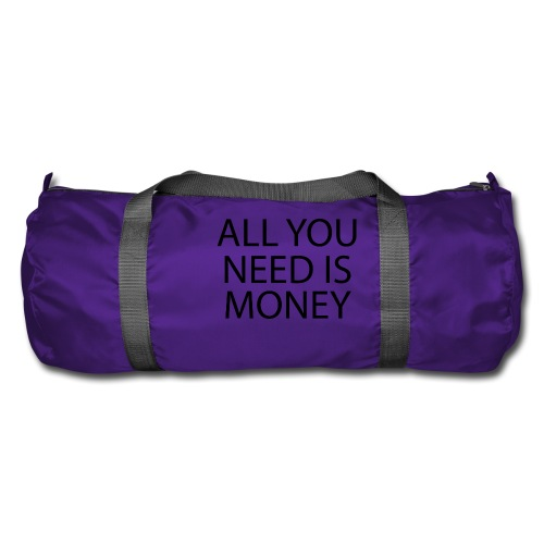 All you need is Money - Sportsbag