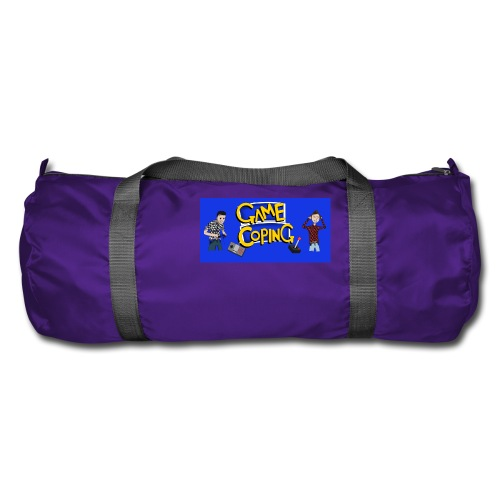 Game Coping Angry Banner - Duffel Bag