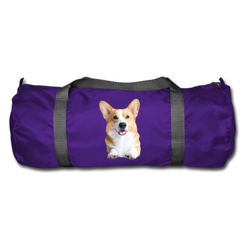 Topi the Corgi - Frontview - Duffel Bag