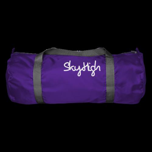 SkyHigh - Men's T-Shirt - Gray Lettering - Duffel Bag