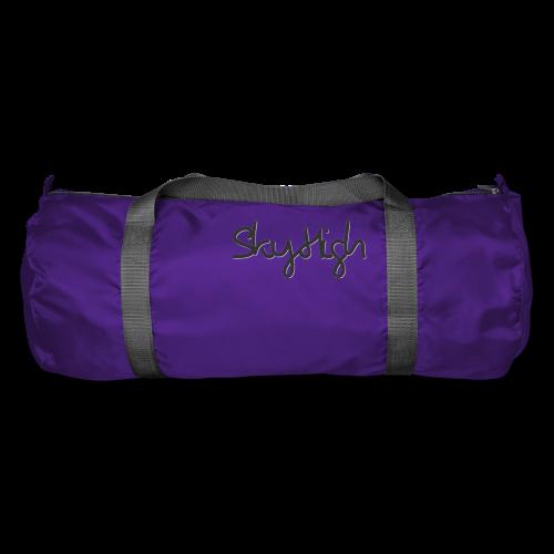 SkyHigh - Men's Premium T-Shirt - Black Lettering - Duffel Bag