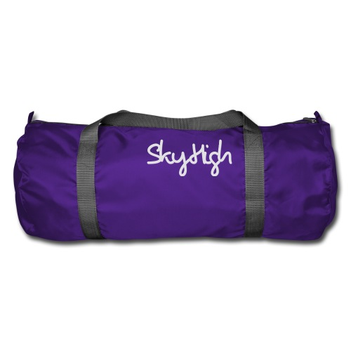 SkyHigh - Women's Hoodie - Gray Lettering - Duffel Bag