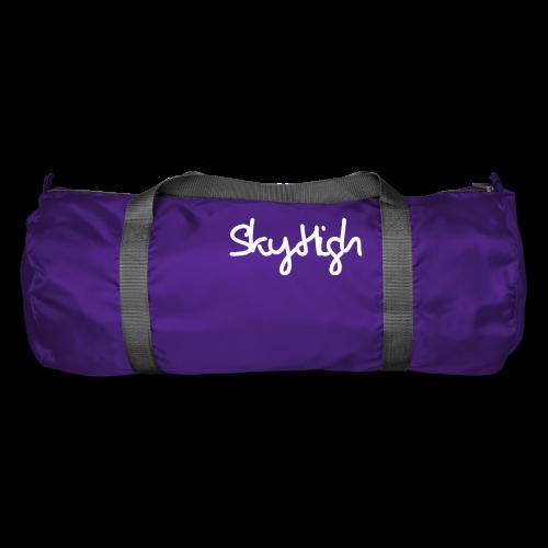 SkyHigh - Women's Hoodie - White Lettering - Duffel Bag