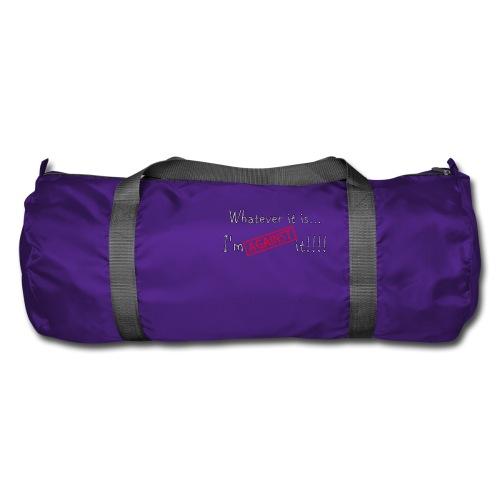 Against it - Duffel Bag