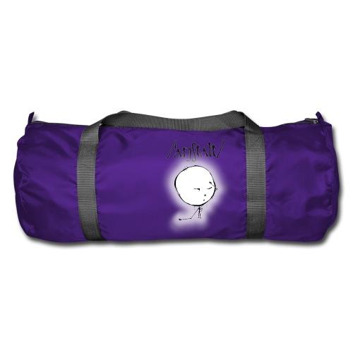 kreisling mit logo (schwarz) - Sporttasche