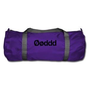 Øøddd (sort skrift) - Sportstaske