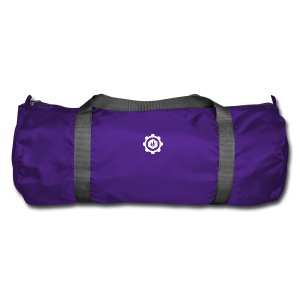 Jebus Adventures Cog White - Duffel Bag