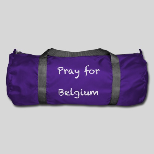 Pray for Belgium - Sac de sport