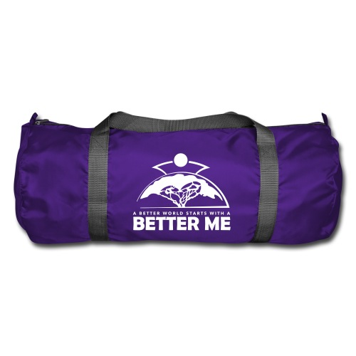 Better Me - White - Duffel Bag