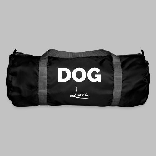 DOG LOVE - Geschenkidee für Hundebesitzer - Sporttasche