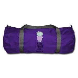Keep Calm - Little Monster - Petit Monstre - Sac de sport