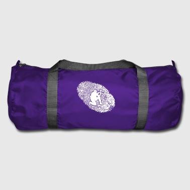 fingerprint dna dns gift paintball - Duffel Bag
