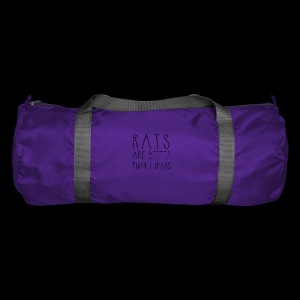 Rats Are Better Than Humans Collection - Duffel Bag
