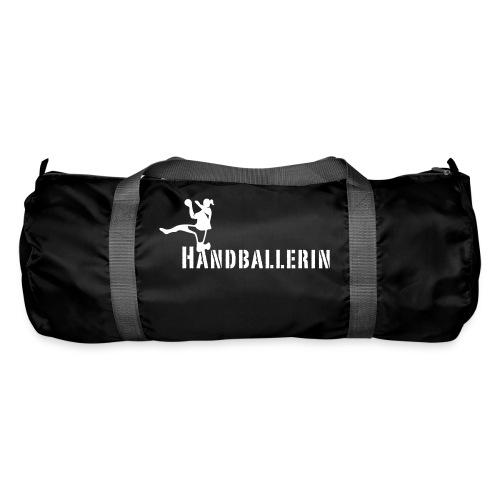 Handballerin Schriftzug - Sporttasche