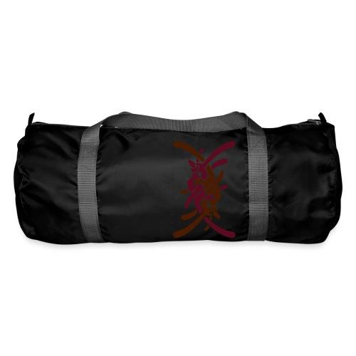 Stort logo på bryst - Sportstaske