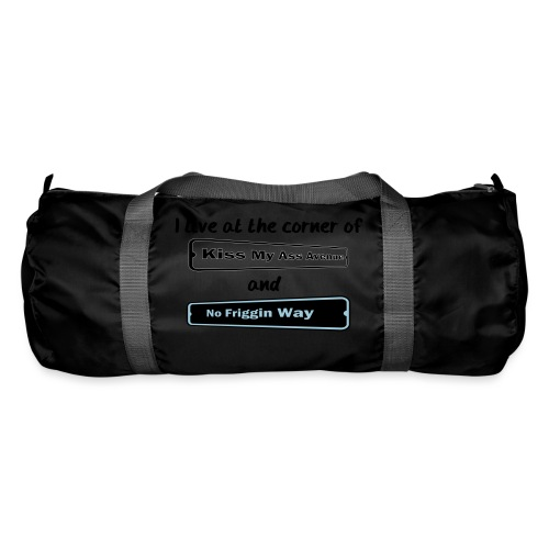 I_LIVE_AT_THE_CORNER_CUT_-2- - Duffel Bag