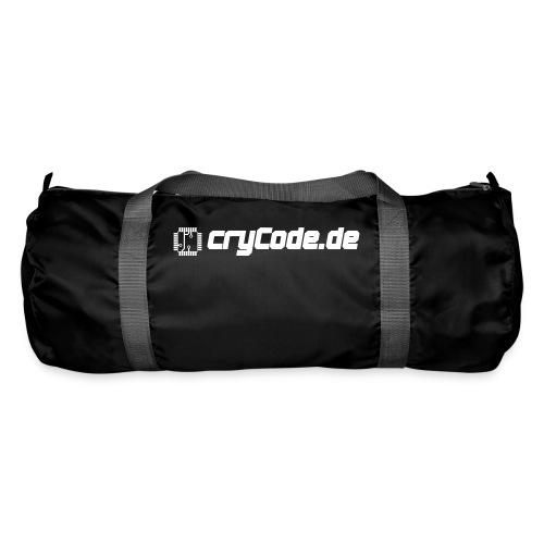 cryCode weiß - Sporttasche