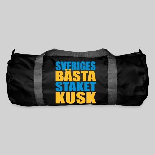 Sveriges bästa staketkusk! - Sportväska