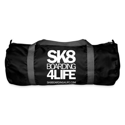 sk8boarding4life white - Sporttasche